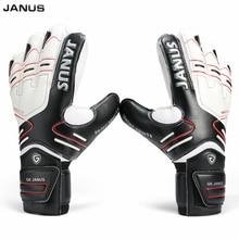 Размер 7-10, профессиональные перчатки для соусницы, вратарские перчатки, черные футбольные перчатки, Luvas De Goleiro, мужские тренировочные латексные перчатки S142