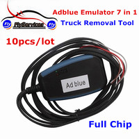 10pcs Lot High Quality Full Chip Adblue 7 In 1 Remove Tool Adblue Emulator 7In1 Module