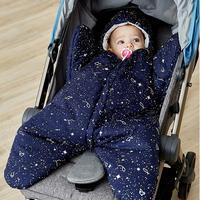 Baby Sleeping Bag Winter Baby Starfish Sleeping Bag Infant Stroller Sleep Sack Footmuff Baby Wheelchair Envelope for Newborns