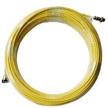 Кабель SYANSPAN для видеокамеры для осмотра труб 20, 50, 100 м, сливной трубопровод, промышленный эндоскоп, кабели системы