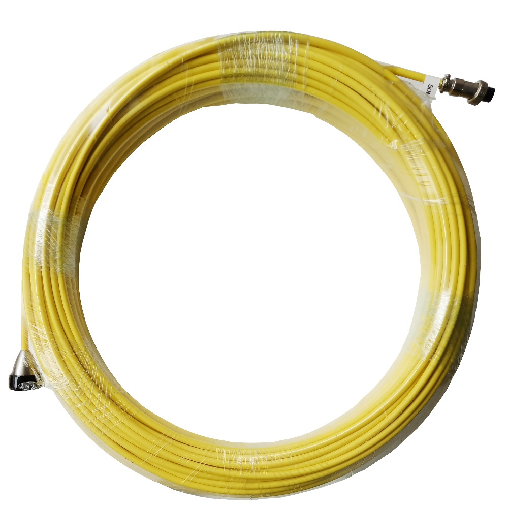 SYANSPAN Cable 20 50 100M Pipe Inspection Video Camera,Drain Sewer Pipeline Industrial Endoscope System Cables-in Surveillance Cameras from Security & Protection