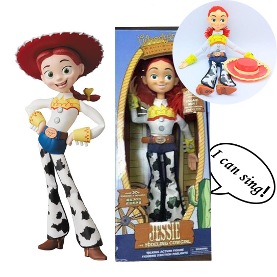 Action Movie Figurine Tv-Toys Sing Story-Jessie-Doll English Baby Gift Can Song