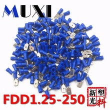 FRD2-156 FRD2.5-156 Two bags 100PCS/bag Bullet Shaped Male Female Insulating Joint Wire Connector Electrical Crimp Terminal