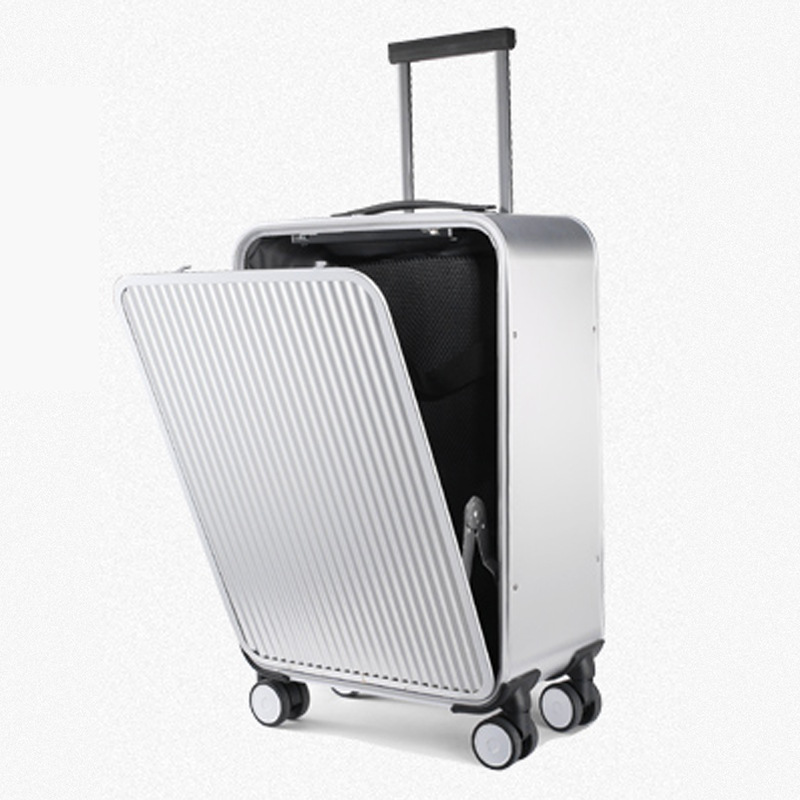 100% All Aluminium Alloy Luggage Hardside Rolling Trolley Luggage Suitcase 20 Carry On Luggage 24 Checked Luggage