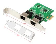 PCI-E XPRESS Dual Gigabit Ethernet C Ontrollerบัตร, RTL8111ชิปเซ็ต, สนับสนุนยึดรายละเอียดต่ำ10/100/1000 Mbps