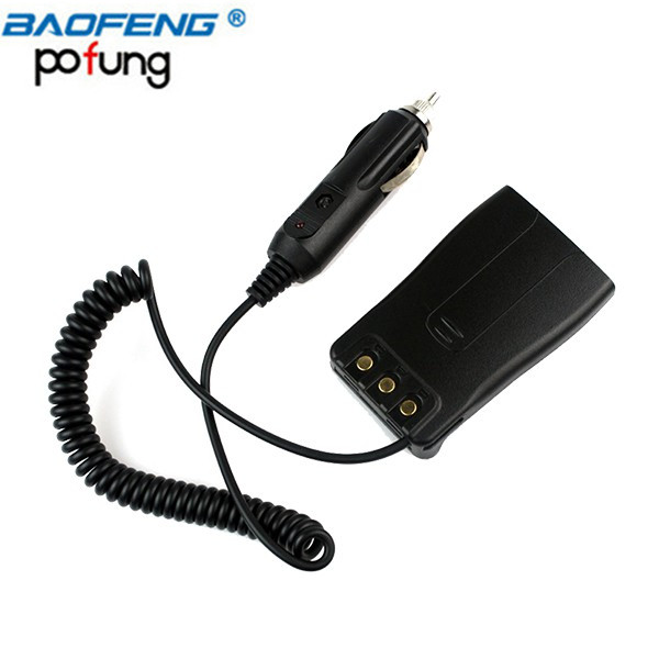 Baofeng BF-888S BF-777S BF-666S Car Charger Battery Eliminator Adapter DC 12V For Two Way Radio Walkie Talkie 888S 777S 666S