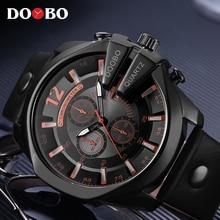 Relogio Masculino люди с большим набором DOOBO часы Топ Элитный бренд черный кварцевые Военная Униформа наручные часы для мужчин спортивные часы Новый