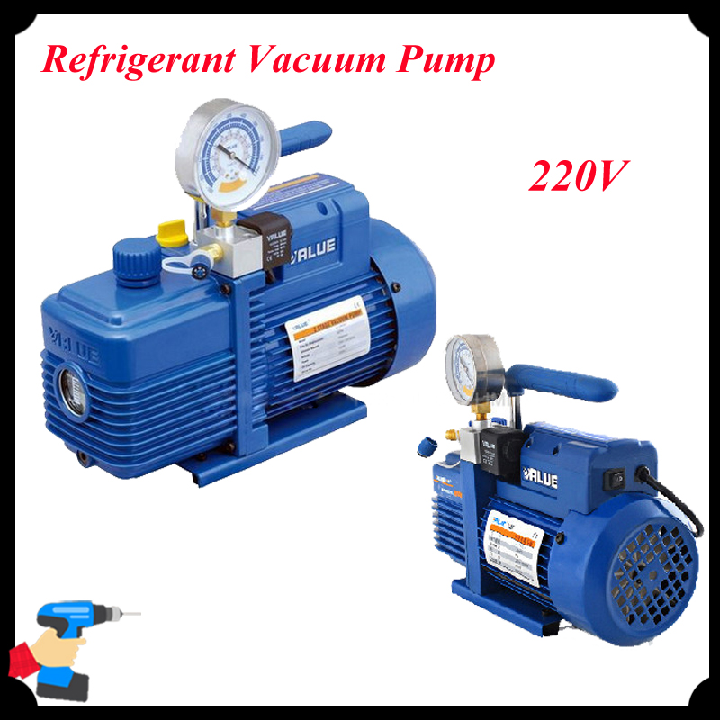 220V New Refrigerant Vacuum Pump Suitable for R410a,R407C,R134a,R12,R22 Refrigerate V-i120SV portable refrigerant recovery unit suitable for commerce refrigerated cabinet