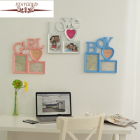 Creative Monogram Personalized Photo Frame Love Picture Frame Wall Frame Sets Wedding Photo Frame Gift