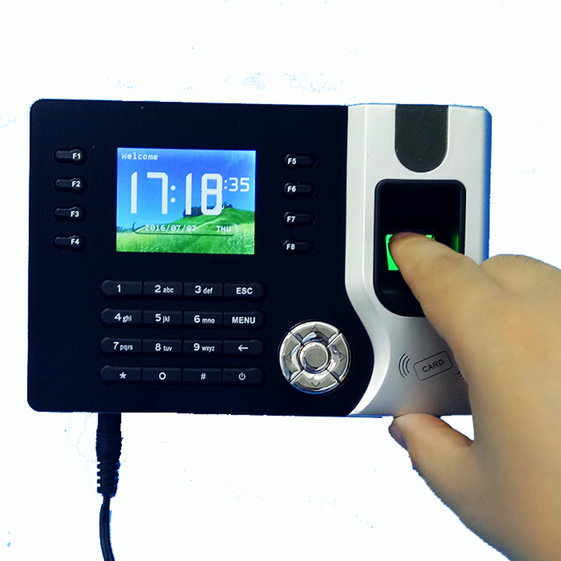 A-C071 TCP/IP Biometric Fingerprint Time Clock Recorder Attendance Employee Electronic Punch Reader Machine Realand стоимость