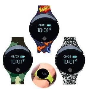 Image 1 - JQAIQ Fitness สมาร์ทสร้อยข้อมือกิจกรรม Tracker Pedometer บลูทูธ Oled สมาร์ทสายรัดข้อมือสำหรับ Android Ios Smartphone