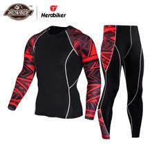 JACK CORDEE Men Motorcycle Jacket +Pants Quick Dry Sport Suit Running T-shirt Se