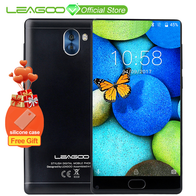 "LEAGOO KIICAA MIX 5.5"" Full Screen Android 7.0 MTK6750T Octa Core Smartphone 3GB RAM 32GB Dual Back Cameras Fingerprint 4G Phone"