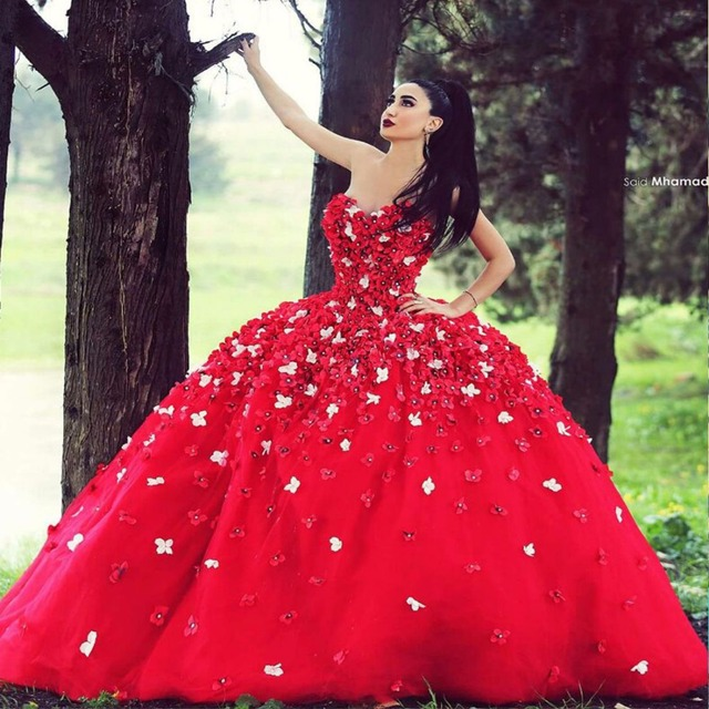 women's red gowns and dresses