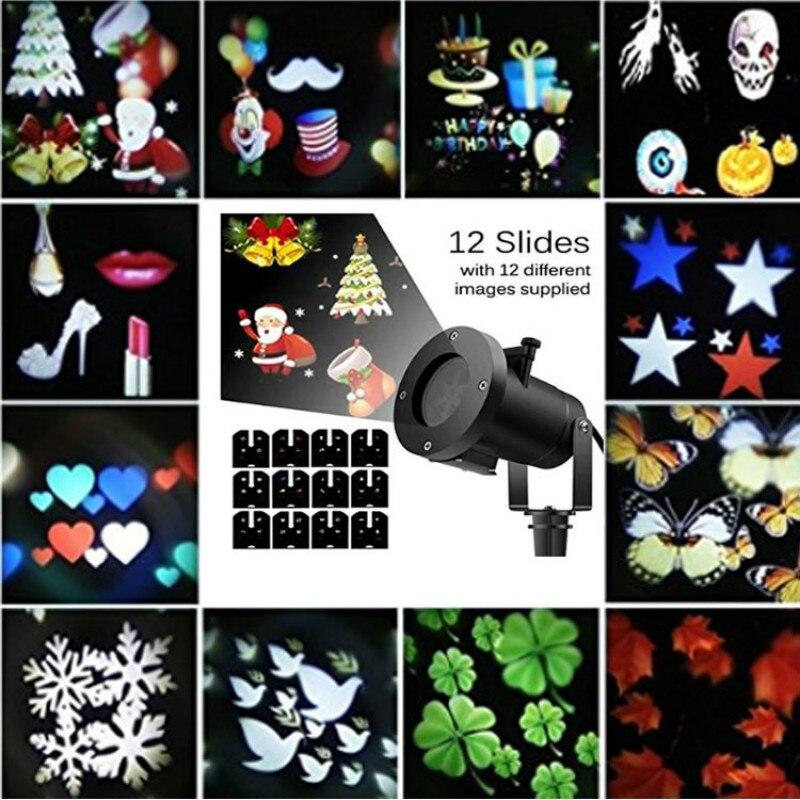 ๏Xmas декоративные проектор огни напольный лазерный ...