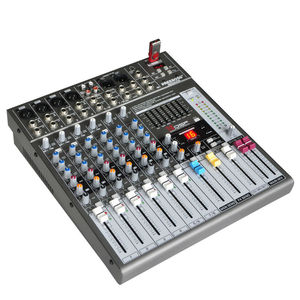 Image 2 - Freeboss ME82A Ultra רעש נמוך 4 מונו + 2 סטריאו 8 ערוצים 16 DSP USB מקצועי dj אודיו מיקסר קונסולה