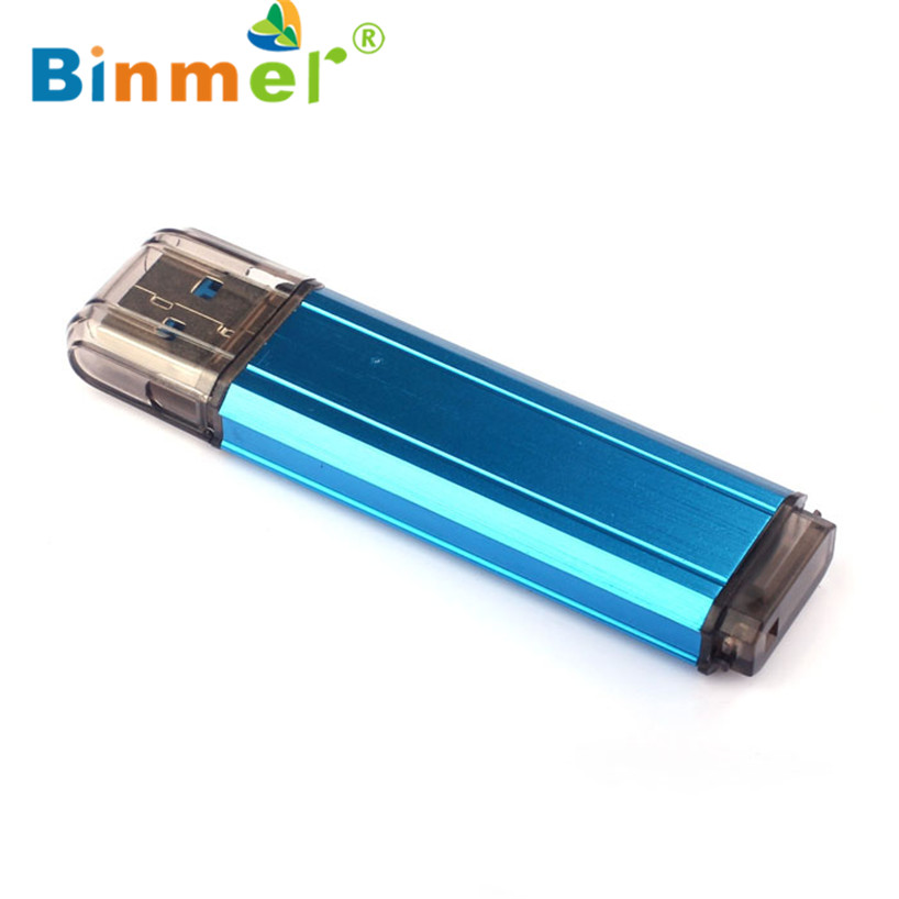 2017 navio Livre De Armazenamento Compacto 32 GB Metal Escovado Alta Velocidade USB3.0 Flash Drive de Memória Vara Azul 23 De Agosto