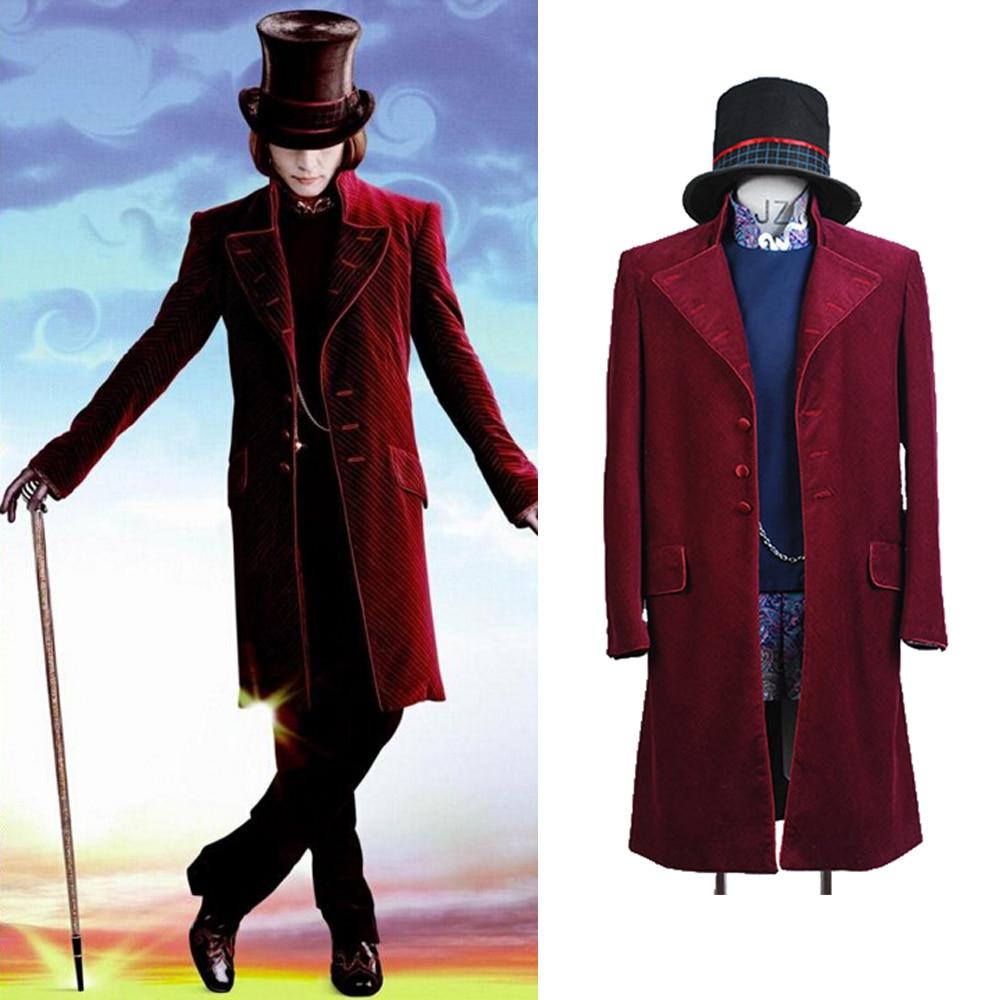 Johnny Depp as Willy Wonka Costume