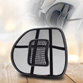 2016 Hot Sale Office Chair Car seat Cover Sofa Cool Massage Cushion Lumbar Back Brace Pillow Lumbar Cushion New Car Back Seat