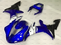 YZFR1 2003 Bodywork YZF R1 2002 2003 Blue White Black Fairings for YAMAHA YZFR1 2002 Fairings