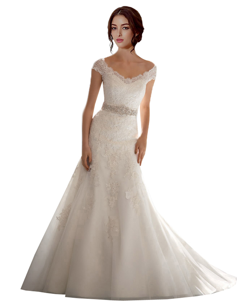 Aliexpress.com : Buy 2015 Romantic Wedding Dresses Online Shopping ...