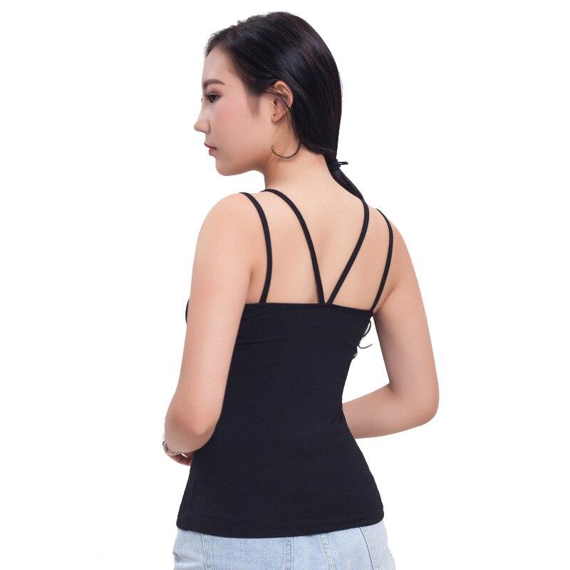 2018 Summer Tank Top Women Sexy Sleeveless Basic Tops U Neck Blusas Casual Vest Camisole Tank Tops Women Diversified Latest Designs