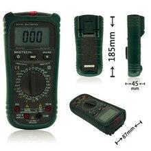 MASTECH MS8260E Цифровой Мультиметр Мультиметр AC DC Напряжение Ток Емкость Индуктивность Тестер с бесконтактный Испытательное Напряжение