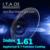 1.61 Índice Anti Azul Violeta Claro Gafas de Lentes de Prescripción Óptica Para Oficina Trabajador Ordenador Gafas Con 7 Función De Revestimiento