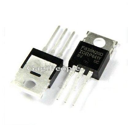 Транзистор 20 . FET IRFB38N20 FB38N20