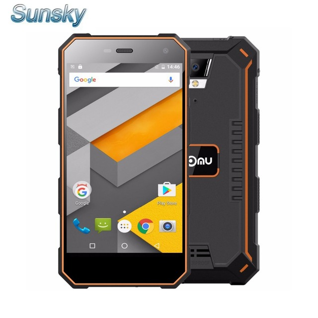 NOMU S10 IP68 Waterproof 5.0inch HD 5000mAh Android 6.0 Smartphone MTK6737T Quad-core 1.5GHz 2GB 16GB 13.0MP 4G LTE Mobile Phone
