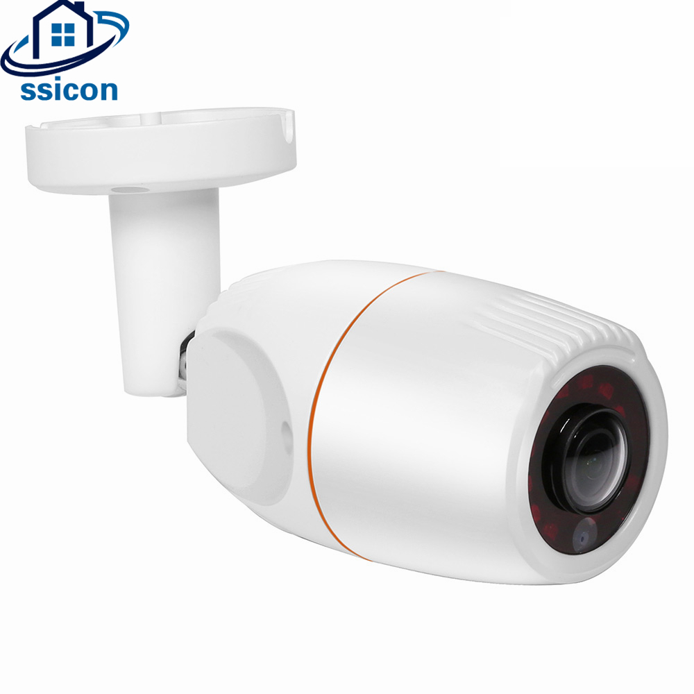SSICON 1.3MP 2.0MP Waterproof Bullet AHD 180 Degree Fisheye Camera Outdoor Support Night Vision ssicon bullet 2mp infrared hd camera ahd 1080p outdoor waterproof