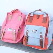 Nouveau mode femmes multifonctionnels sac à dos cool adolescent fille grande capacité livre sacs mochila de nylon ocasional mignon sac à dos