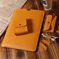 Talkesen Brand Laptop Sleeve Bag Briefcase Pu leather case cover For Apple Macbook Pro/Air Bag Case 11 12 13 15 '' PC Light bag