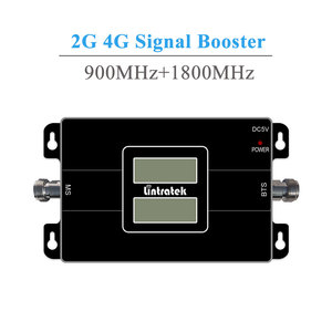 Image 2 - Lintratek Signaal Booster Repeater GSM 900 1800 Mhz Dual Band 2G 900 MHz 1800 MHz LTE 4G Mobiele telefoon Signaal Repeater 20 M Kabel Kit @