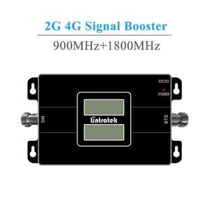 Image 2 - を Lintratek 信号ブースターリピーターの gsm 900 1800 mhz デュアルバンド 2 グラム 900 MHz 1800 Mhz の Lte 4 グラム携帯電話信号リピータ 20 メートルケーブルキット @