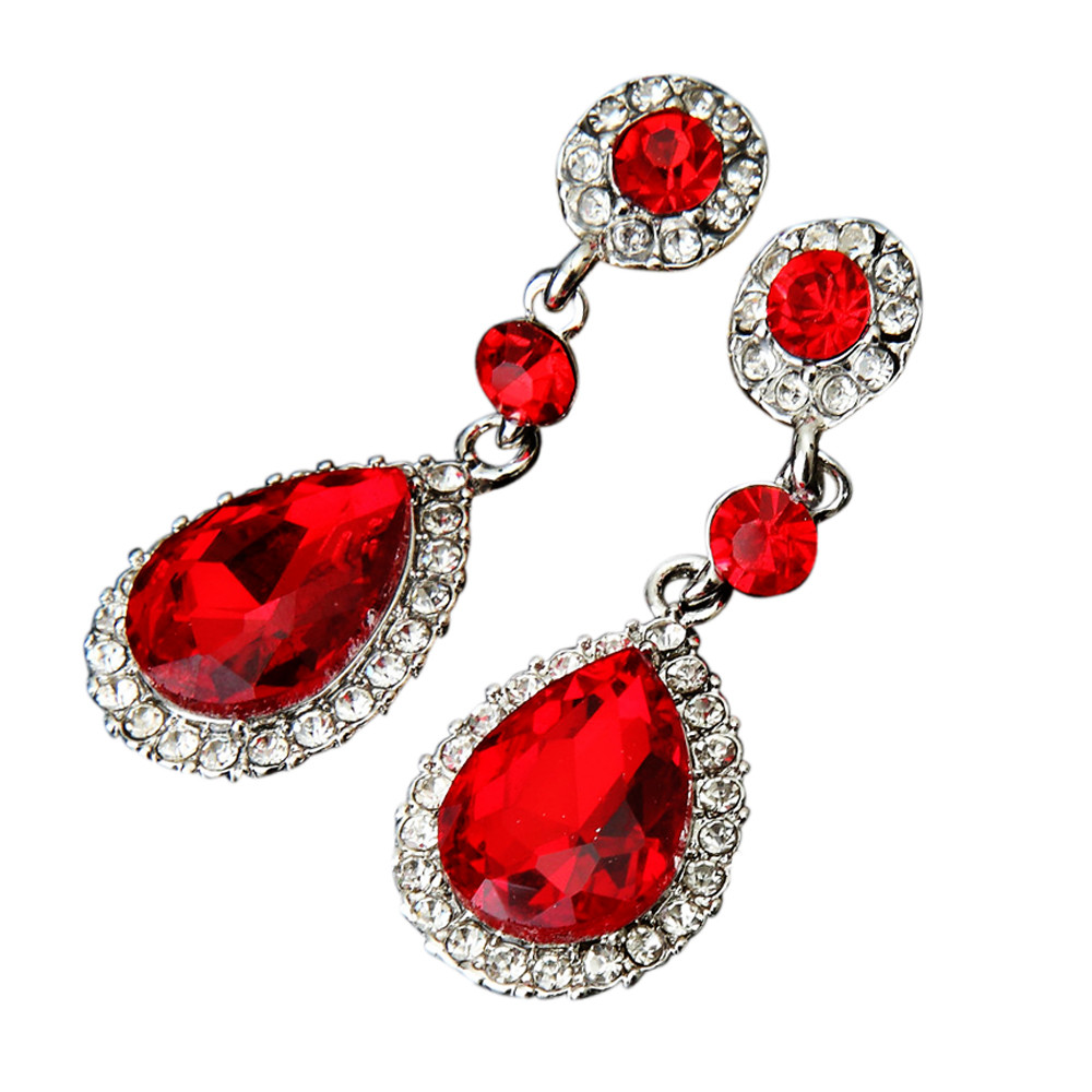 Wedding Jewelry Rhinestone Style Wedding Earrings For Women Bohemian Earrings Bijuteria Feminina