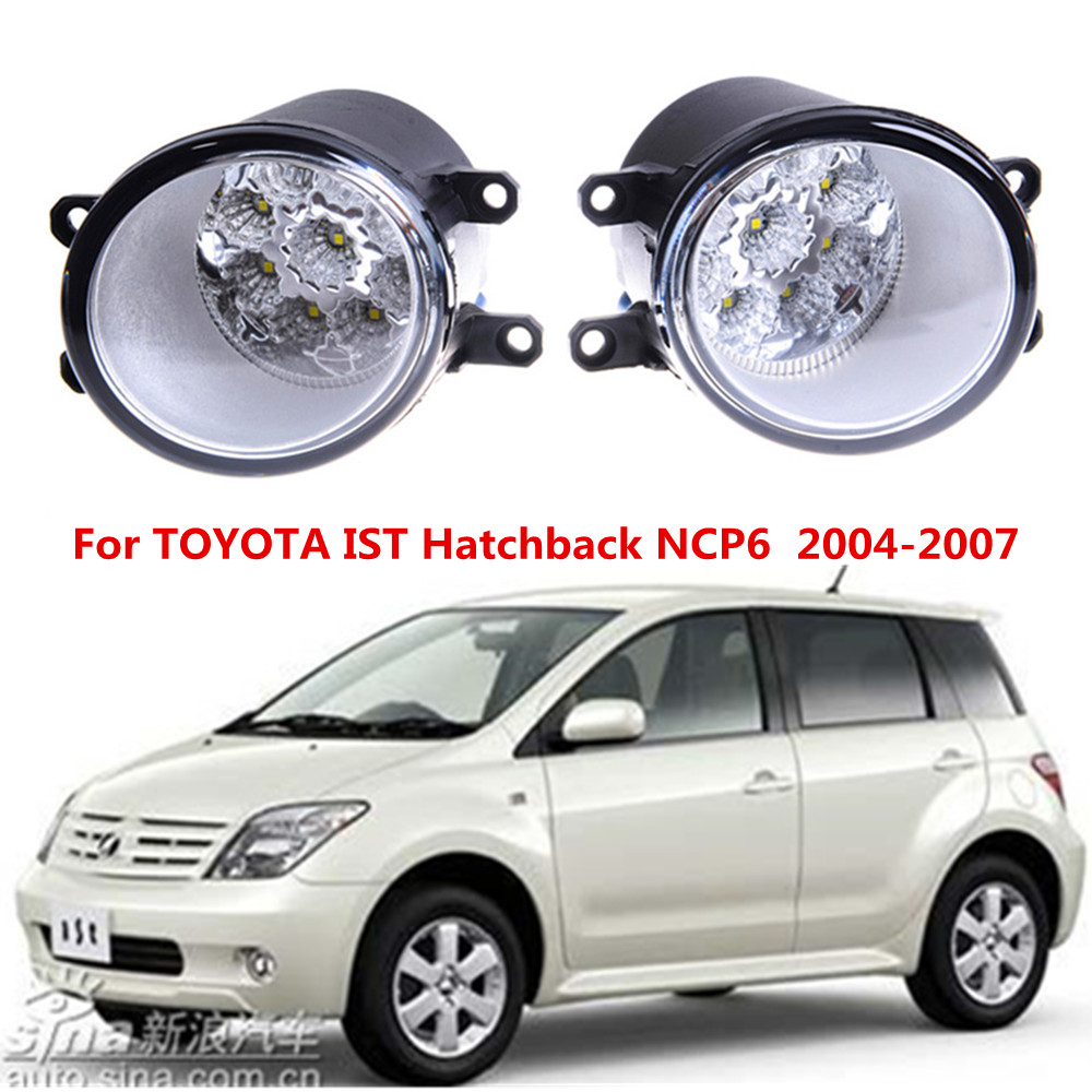 For TOYOTA IST Hatchback NCP6  2004-2007 Car styling front bumper LED fog Lights high brightness fog lamps 1set hero 310b metal fountain pen