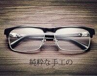 Latest Trend Matel Metal Cross Eye Glasses Frames For Women UV400 Men Chrome Retro Eyeglasses W808