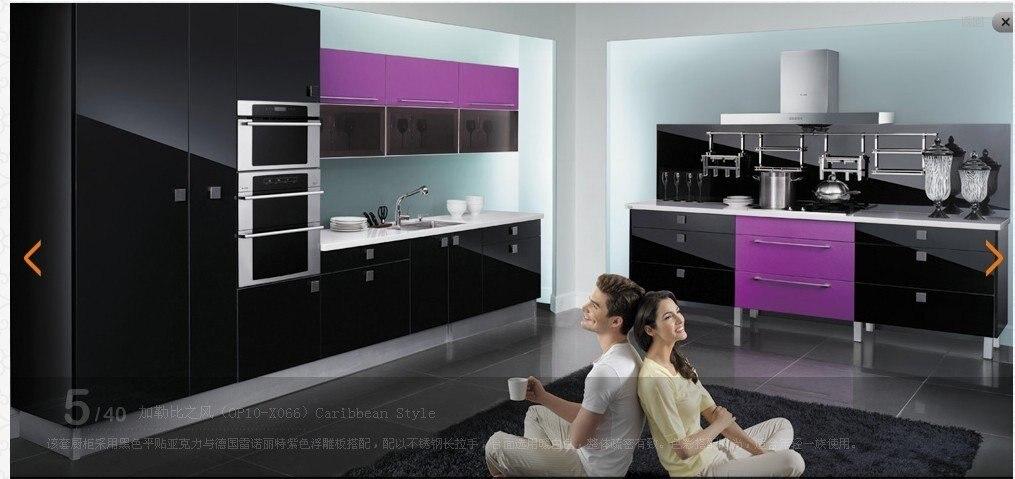 Lacquer Kitchen cabinet LH LA013