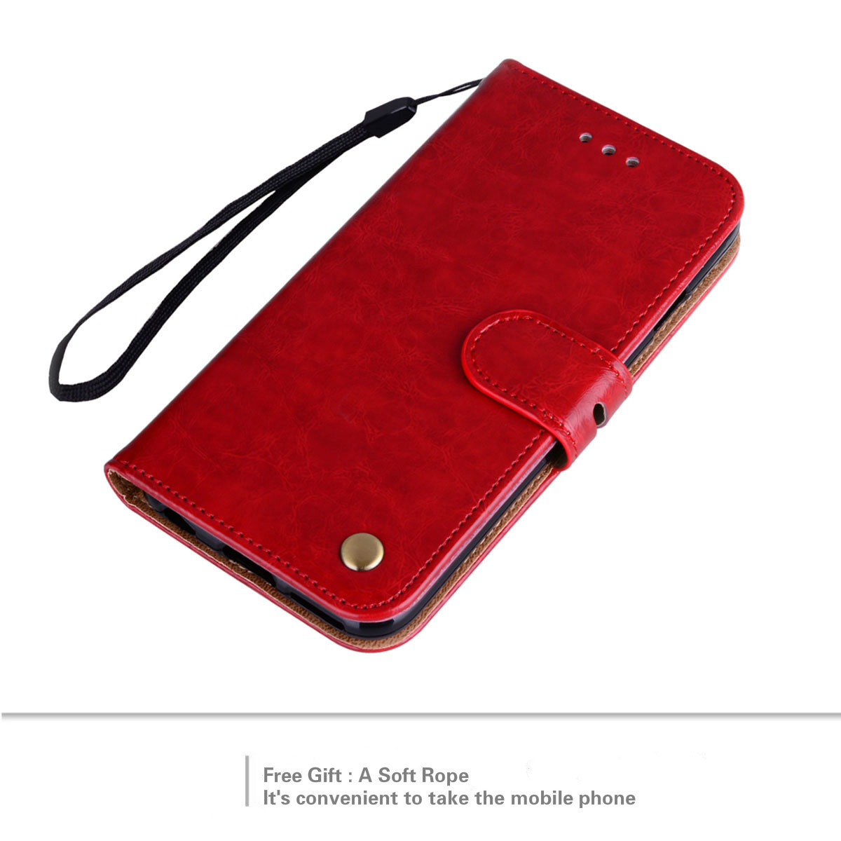 Leather Case For iPhone 5 5S SE Cases Luxury Flip Wallet Stand Style Mobile Phone Cover For iPhone 5 in Wallet Cases from Cellphones Telecommunications