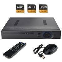 CCTV H 264 4CH AHD H HD 1080P Full Realtime Hybrid DVR Security NVR HDMI Port