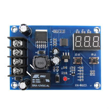 Módulo de Controle de Carregamento 12 XH-M603-24 v Carregador de Bateria De Lítio De Armazenamento Placa de Proteção Interruptor de Controle