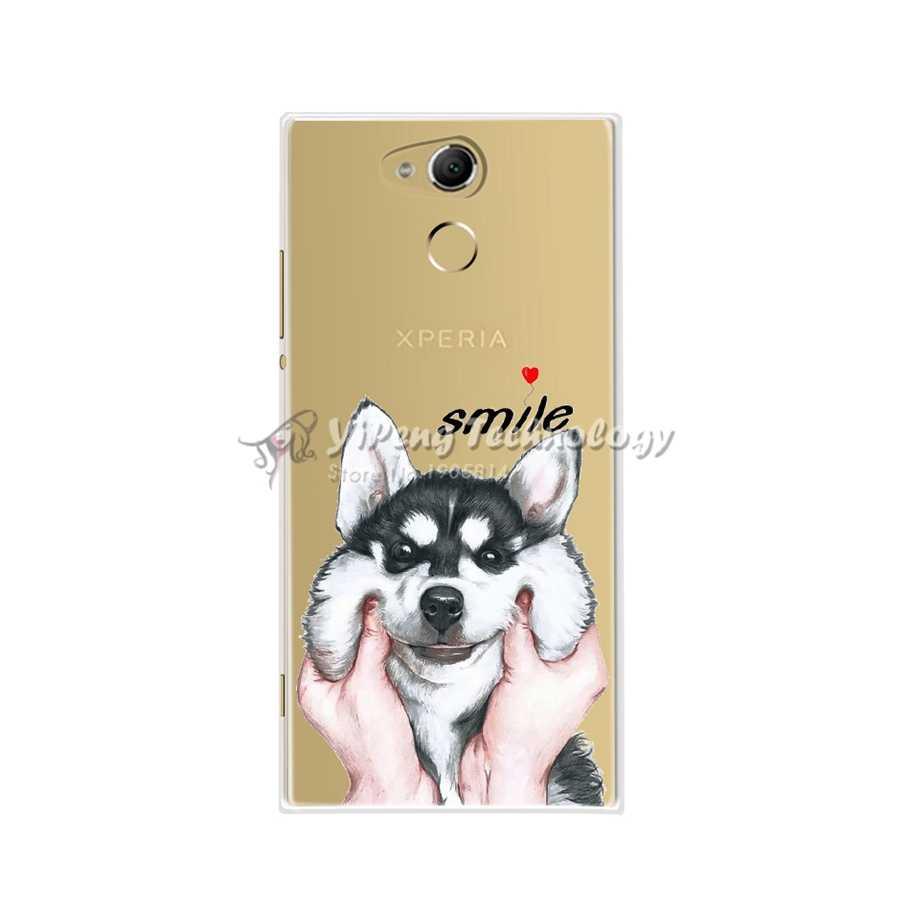 Coque en Silicone Sony Xperia xa2 h4113 h3113 Coque de Protection en ptu pour Coque Sony Xperia xa2 xa 2 Coque de téléphone Anime mignon 5.2