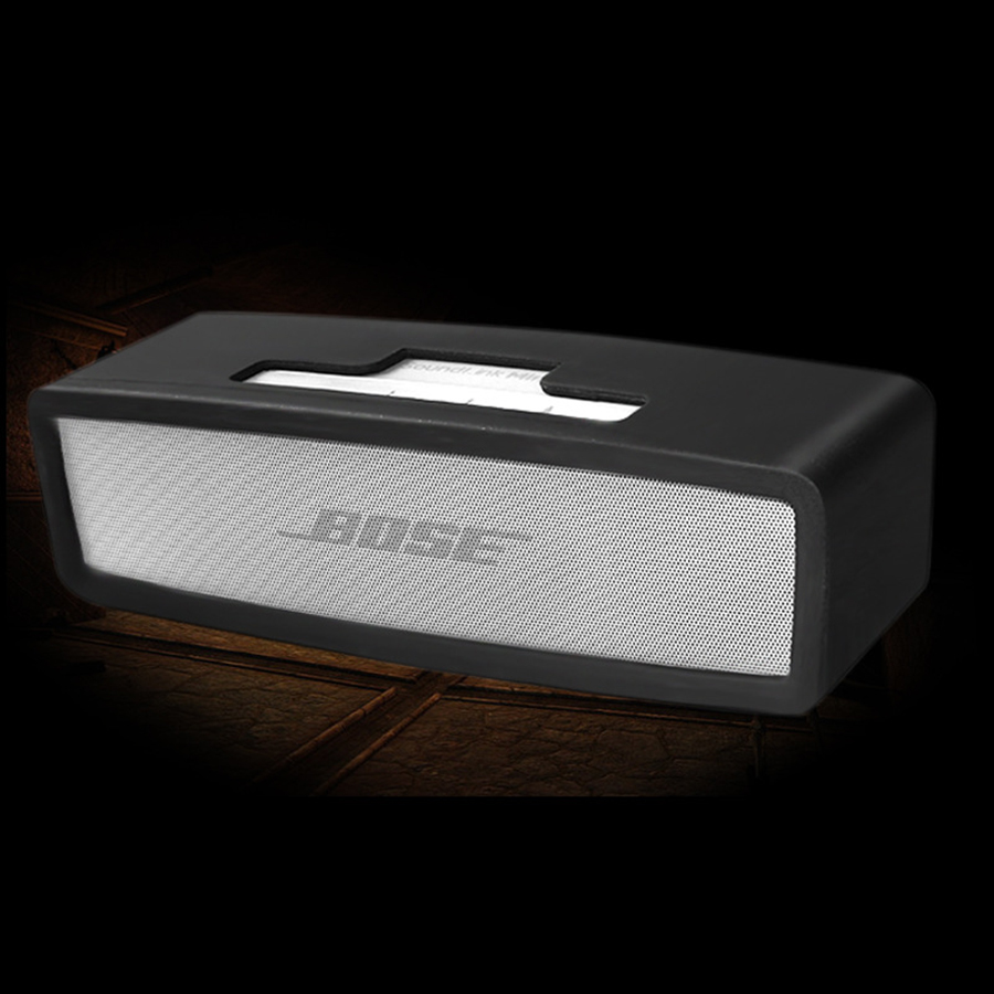 Wireless Bluetooth Speaker Silicone Case For Bose Soundlink Mini 1 2 Sound Link I Ii Protector Cover Skin Box Speaker Pouch Bag