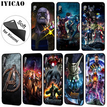IYICAO Marvel Marvels The Avengers Soft Silicone Phone Case for Xiaomi Mi 9 SE 9T CC9 CC9E 8 A3 Pro A1 A2 Lite f1 MAX 3