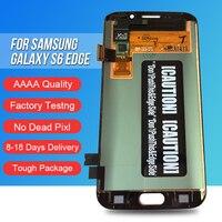 ACKOOLLA мобильных телефонов Дисплеи для samsung Galaxy S6 края мобильного телефона аксессуары Запчасти дисплеев мобильных телефонов Сенсорный экран