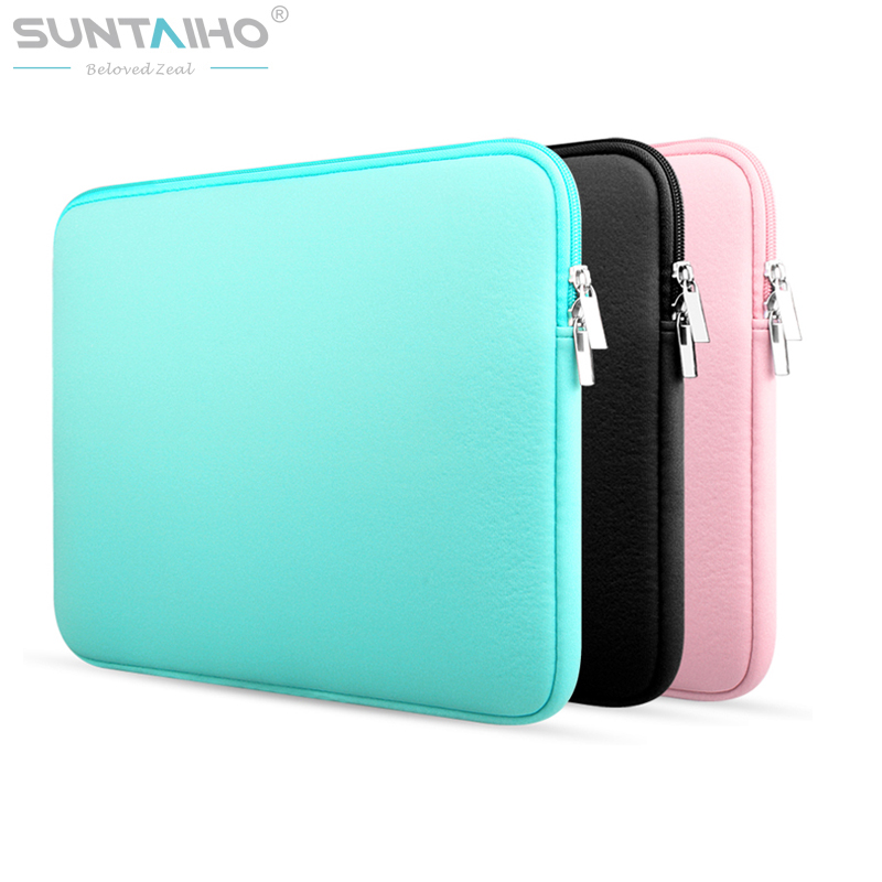 Newest Soft Laptop Sleeve Bag Protective Zipper Notebook Case Computer Cover for 11 13 14 15 inch For Macbook Air Pro Retina new for macbook air pro retina bag case 11 13 14 15 inch laptop bag for macbook case cover notebook protective case sleeve