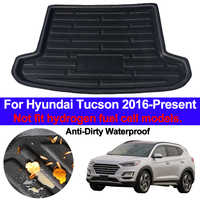 Auto Rear Boot Cargo Liner Tray Trunk Luggage Floor Carpet Mats Carpets Pad Anti-dirty For Hyundai Tucson 2016 2017 2018 2019