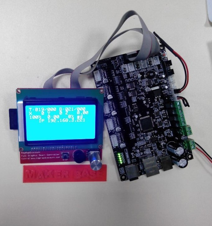 MKS SBASE V1.2 with LCD12864