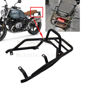 For BMW R NINE T NineT R9T 2014-2017 2015 Motorcycle Rear Luggage Rack Carrier Support Shelf Holder Passenger Hand Rail Bar Grip